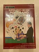 Poker And Blackjack Intellivision Sears Telegames Brand New Factory Sealed Video