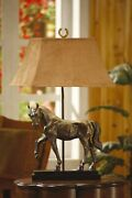 Crestview Horse Creek Table Lamp In Resin Finish Cvaqp936
