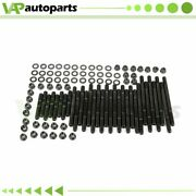 Head Stud Kit For Chevy Bbc 454 For Pce Heads 8 Long Studs 12 Point