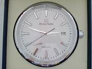 Grand Seiko Boutique Only Gs Style Wall Clock 33 Cm And Box New And 100 Original