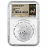 2017 1 Oz Silver Krugerrand ✪ Ngc Sp-69 ✪ First Release Rand Fr Sa ◢trusted◣