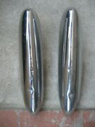 1949 1950 1951 Ford Front Bumper Guards-pair