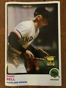 Rookie 1973 Style Buddy Bell Cleveland Indians Poster Si Sports Illustrated Like