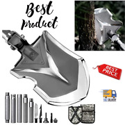 Survival Camping Shovel Folding Tactical Gear Military Emergency Outdoor