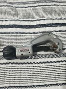 Ridgid 151 Quick Acting Tubing Cutter 1/4 To 1-5/8 Spring Latch Used
