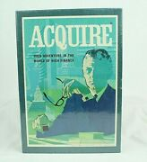 Vtg 1968 Acquire 3m Bookshelf Hotel Real Estate Board Game New Factory Sealed