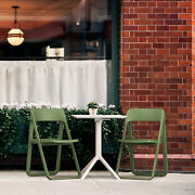 Siesta Dream Bistro Set With White Table And 2 Green Chairs Isp0791s-olg-whi