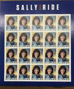 Scott 5283 Sally Ride Sheet Of 20 2018 Forever Stamps Mnh 100 Sheets Sealed