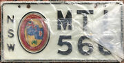 Australia Nsw New South Wales Bicentennial License Plate 1788-1988