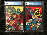 Rare 1975 Underground Comix Keith Green 2 1 And 2 Cgc 7.0 And 6.5 S. Clay Wilson