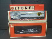 Lionel 6-52169 Zep Chemical Tofc Flatcar With Tractor And Trailer Nib S.134
