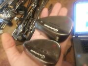 Right Taylormade Milled Grind Antique Bronze Wedge Set.56,60