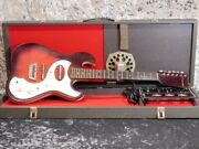 Silvertone Model 1457 Amp In Case 2pickups And03964