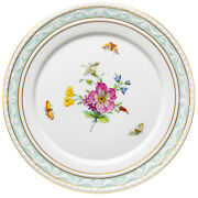 Cake Flowers And Insects Decor 41 Kpm Berlin Kurland 1. Choice After 1970 7 7/8in