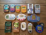 Handheld Electronic Games Lot - 14 Games, Includes Vintage Football And Baseball