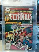 The Eternals 2 30 Cent Variant Pgx 8.5 Signed By Marv Wolfman Movie Coming