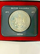 8 Canada Silver One Dollar Coins 1971 + 1973-1979 Uncirculated Plastic Case