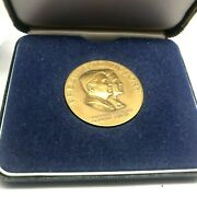 Prelude To Victory-ronald Reagan And George Bush-1980 Donor Gift-bronze Medalg