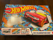Hot Wheels Hw Celebration Box 6 Hot Wheels Cars, Track, Connectors, And More