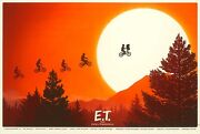 Mike Mitchell E.t. Signed Artist Proof Mondo Poster