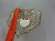Gorham Heart Bowl 9 1/2 Inches By 8 Inches 195 Dwt.sterling 965 9