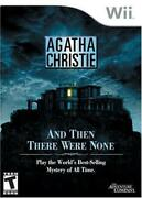 Wi Game Agatha Christie, And Then There Were None, Eur