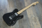 Used Fender Japan Td-41 Black Electric Guitar Free Shipping Made In Japan