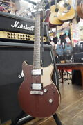 Used Yamaha Rs820cr Brown Electric Guitar Free Shipping