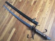 Wwii Japanese Army Officer Shin Gunto Sword-not Signed Tang