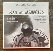 Vintage 1985 Train Songs Wabash Cannonball Oil And Steam Rail Record Lp