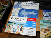 1972 Evinrude Lightwin Yachtwin 4hp Owners Manual More