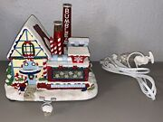 O 2006 Hawthorne Village Bumble's Christmas Town Snow Factory Rudolph House