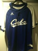 Yoelqui Cespedes Cuba Granma Game Worn Jersey 1 Top Prospect Chicago White Sox