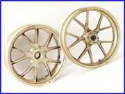 2000 748sps Marchesini M10s Aluminium Forged Wheel Front And Rear Set 916 996 998