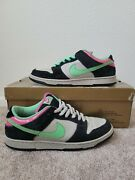 Nike Sb Dunk Low Pro Size 9.5 Poison Pink Magnet And Light Poison Green Rare