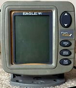 Lowrance Eagle Fish Easy Fish Finder Tested-works Great