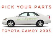 Toyota Camry 2003 Oem Replacement Car Parts You Choose