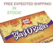 Jolly Time Blast O Butter Popcorn 96 Bags-free Express Shipping