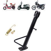 1andtimes Motorcycle Side Stand Leg Kickstand Supporter Black Size 14/16/18/20/22/24cm