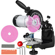 110v Multi Purpose Electric Chainsaw Sharpener Bench Grinder With Tools 230w