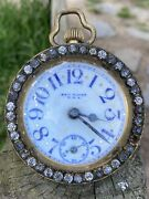 Charming 19th Century Glass Ball Clock, New Haven