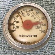 Vintage Gm Buick Chevrolet Ford Mopar Pontiac Old Car And Truck Auto Thermometer