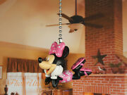 Disney Minnie Mouse Ceiling Fan Pull Light Lamp Chain Decoration A630 B