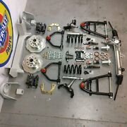 47-54 Chevy Camion Mustang Ii Coil-over Ifs Stock 5x4.5 Power Lhd Rack Rue Canne