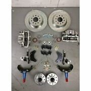 1935-40 Chevy Camion Mustang 2 Ii Ifs Grand Frein Kit 2 And039207 T14 230 T16 Hemi
