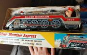 Vintage 1960s Tin Toy Train Japan In Box
