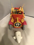Ghostbusters Filmation Action Figures Lot Vehicle Buggy Not Complete
