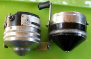 Vintage 1 Zebco 909 1 Zebco 33 Spinner Reel Parts And/or Repair Only