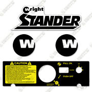 Wright Stander 6125 Standing Mower Decal Kit Equipment Decals