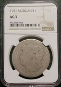 1921 Morgan Silver Dollar Ngc Ag3 Low Ball Only Graded 1921 Lowball On Ebay